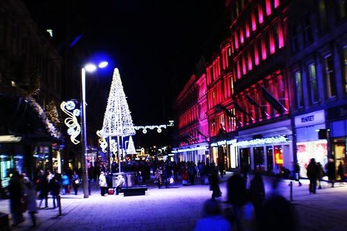 Buchanan St at Night