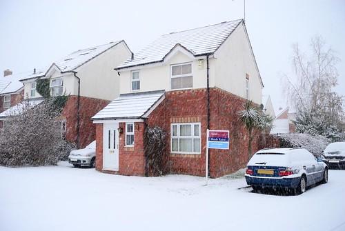 It's a bit snowy...