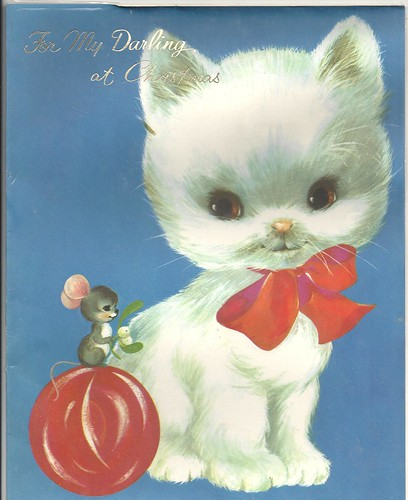 Christmas card, 1970. by cheryldecarteret