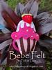 Cake Hair accesories (Bebe Handmade) Tags: baby girl kids children kid infant hairclips avika feminim cutegifts cakefelt