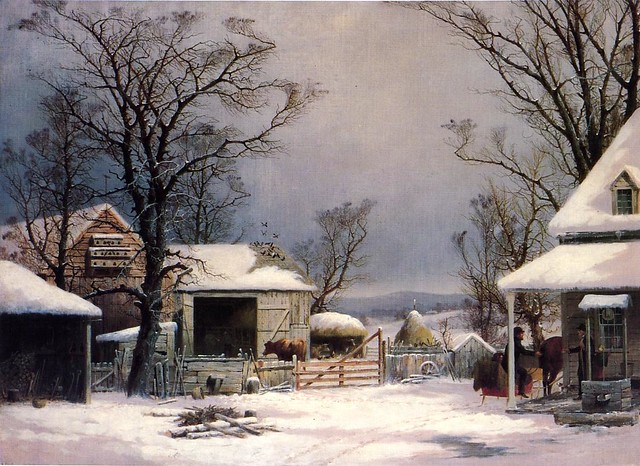 Farmyard, Winter 1862