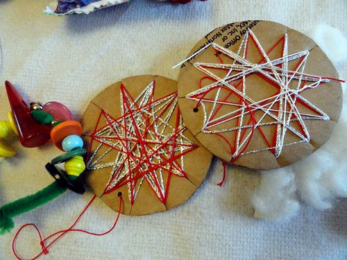 Christmas Star Cookie Ornaments