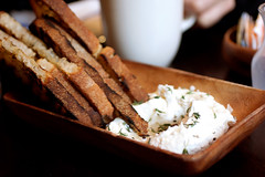 sheep's milk ricotta @ locanda verde