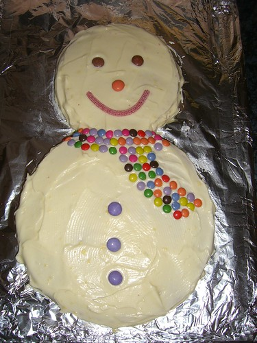 How to make a Frosty the Snowman cake – Cake blog with ...