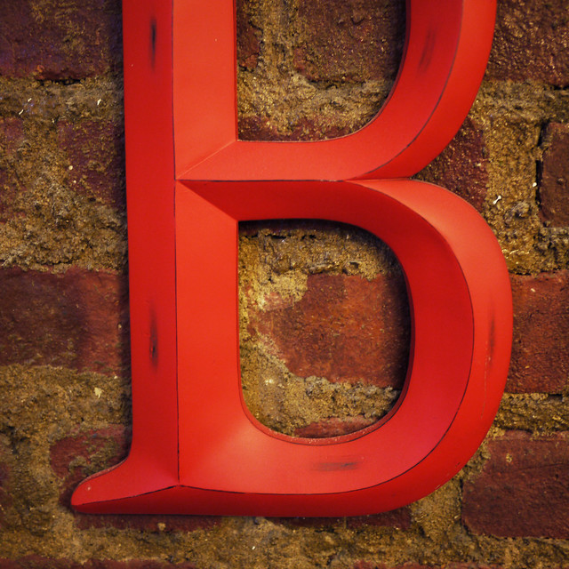 Up close with the letter B #walkingtoworktoday
