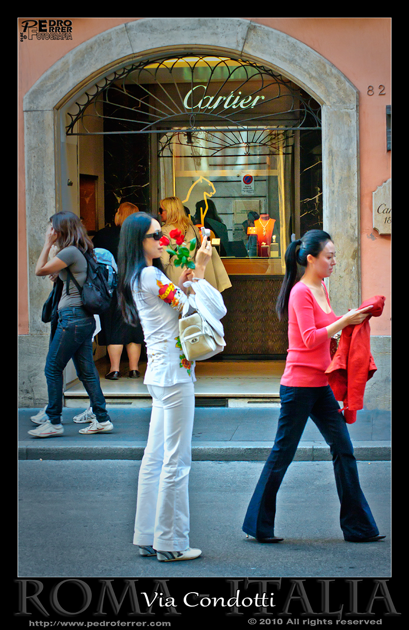 Roma - Via Condotti -  Cartier