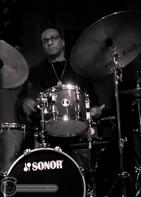 Jason Robinson Quintet at Dizzy's 121810 © Michael Klayman-016