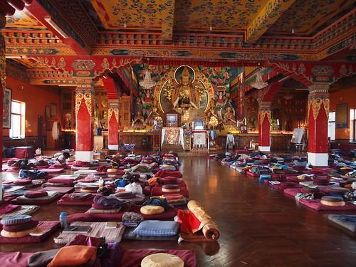La nostra aula.. Kopan Monastery, Nepal