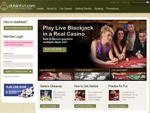DublinBet Live Casino Home