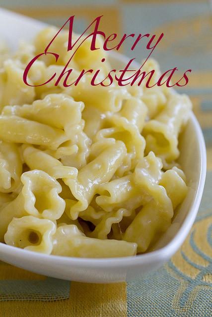 Merry Christmas Macaroni Cheese