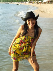 DSCF3813 (*SIN CITY*) Tags: urban hot beach beauty smile hat rural outdoors happy asia smiles beautifull thialand thia