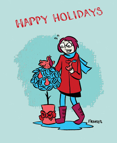 holiday card frakes