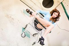 ryann (sweethardt) Tags: woman female phone basket payphone laundry heels conversation 3am brunette linoleum dryer landromat