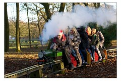Bolton Santa Express - Full Steam Ahead! (Mark-Crossfield) Tags: pictures santa christmas uk greatbritain family england kids train children fun photo image photos picture engine railway trains images workshop presents engines bolton grotto express toyland mossbank miniaturerailway santaexpress photosof santasgrotto mossbankpark santaride christmasride boltoncouncil markcrossfield toylandworkshop mossbankparkmodelengineeringsociety alancrossfield