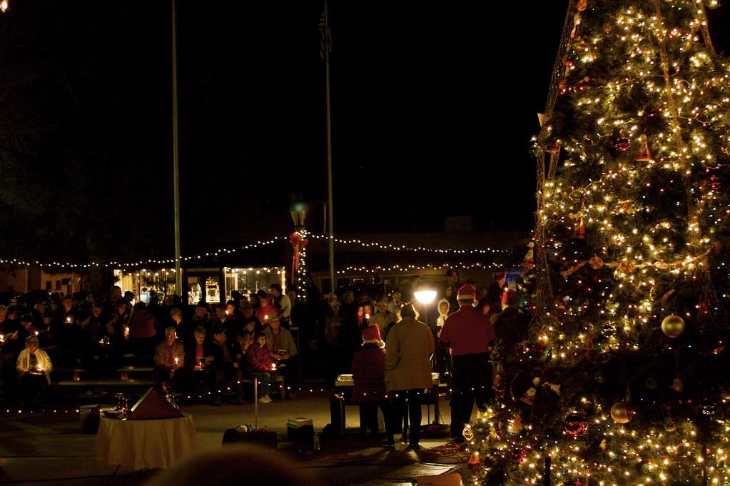 Town Singing Carols