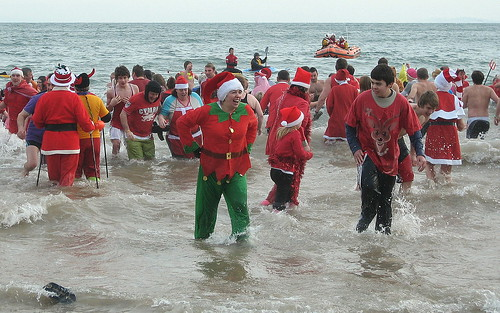 Tenby Boxing Day Swim 2010