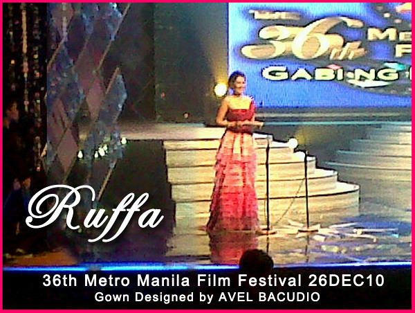 Ruffa Gutierrez Hosting the MMFF Awards Night 26DEC2010 by MsRuffa