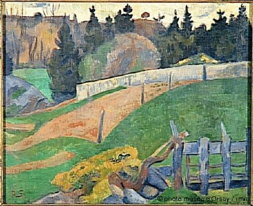 La barrière, Paul Sérusier, 1890