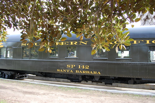 Southern Pacific Train by Amtrak, Santa Barbara