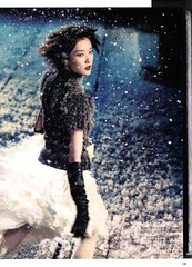 Let it Snow (Bobbins and Bombshells) Tags: fashion editorial letitsnow dujuan voguechina