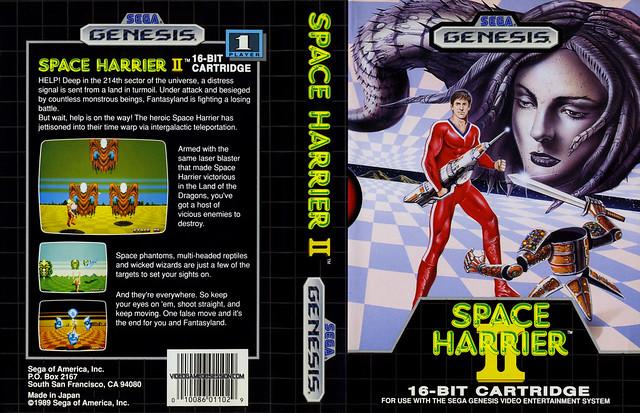 Genesis -SpaceHarrier 2