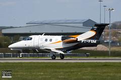 PT-FQM - 50000139 - Embraer - Embraer EMB-500 Phenom 100 - Luton - 100421 - Steven Gray - IMG_0222