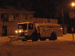 Snow cleanup 2010 12 27 (Armenoush) Tags: nyc snow bronx sanitation dsny