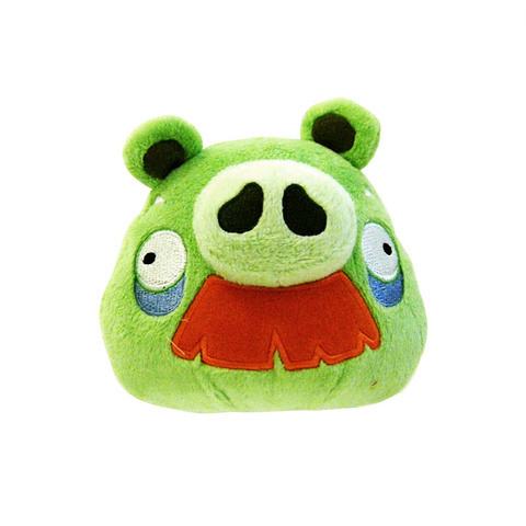 Angry Bird Plush / Soft Toy - Grandpa Pig [Mustache]