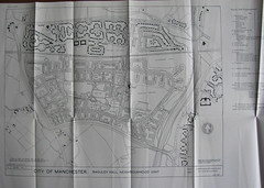 City of Manchester - Baguley Hall neighbourhood unit, development plan, July 1947 (mikeyashworth) Tags: manchester wythenshawe manchestercitycouncil manchesterhousing manchestercouncilhousing suburbscouncilhousing1940sbaguleyhall mikeashworthcollection