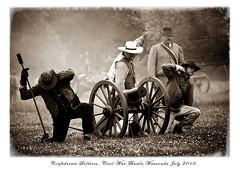 Civil War Battle (princessfoto) Tags: soldier wounded battle civilwar reenactment officer veterans gunfire