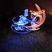 Light Graffiti : Outline Stroke 002