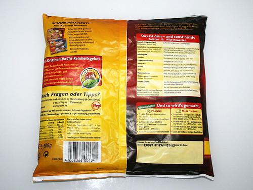 02 - Frosta Hähnchen Curry - Packung hinten