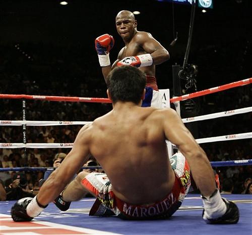 FLOYD MAYWEATHER vs Juan Manuel Marquez fight video