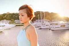 [フリー画像] 人物, 女性, アジア女性, ショートヘア, 201101040900