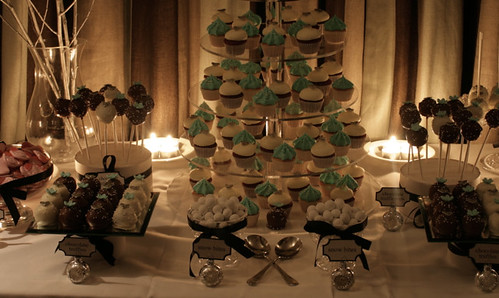 Wedding dessert table by admin Society Cupcakes has added a photo to the