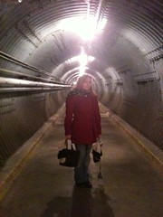 Beth at the Diefenbunker