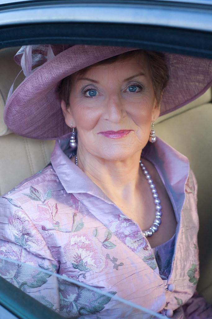 The bride's mum, my Aunt