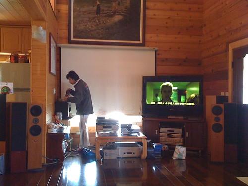 飛來居民宿:專業級的音響設備