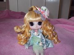 Alice (purpleZ) Tags: pink cute hair bigeyes doll maya bighair kawaii blonde groove bjd pullip blondehair balljointeddoll japanesedoll junplanning byul byulmaya