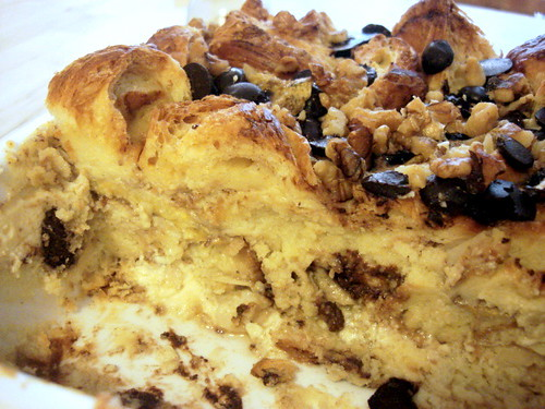 banana bread butter pudding-2