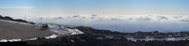 The view from Etna