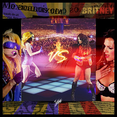 Britney VS Gaga 2011 [VOTA por tu Favorita con una Nota!] (Joshie.yeye) Tags: new texture me against monster lady ball way this born tour spears song circus album performance it single britney hold gaga versus newspapaer 2011