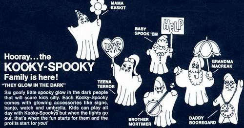 Kooky Spooky (1968) retailers ad