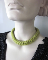 cable braided necklace 3