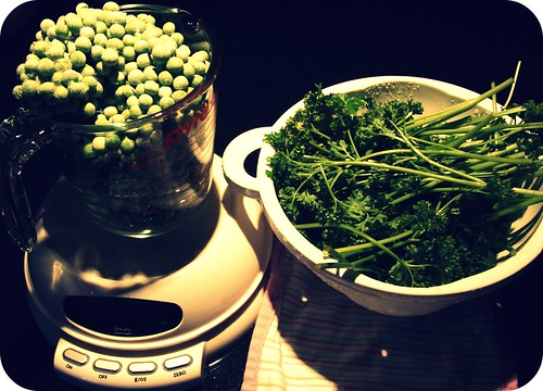 peas and parsley