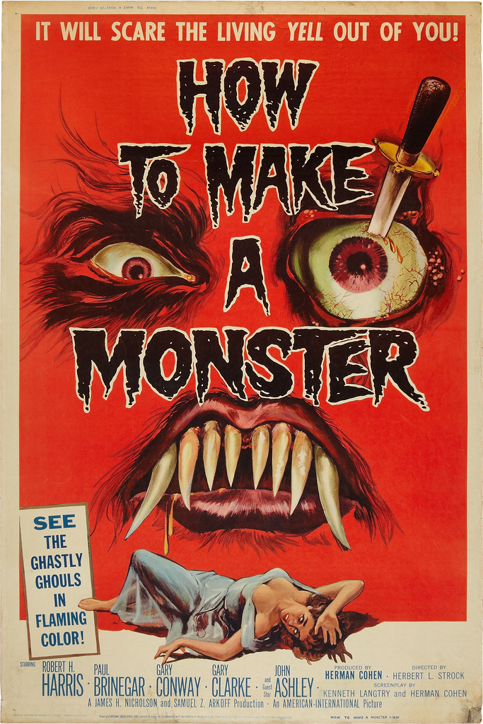 How to Make a Monster (American International,1958)