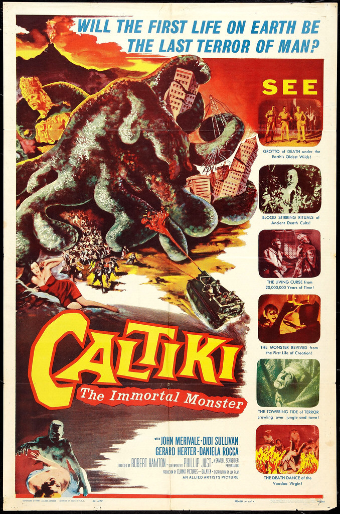 Caltiki, the Immortal Monster (Allied Artists, 1960)
