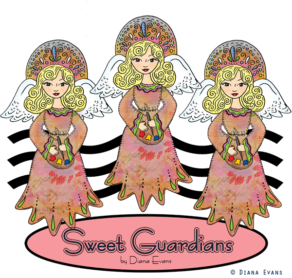 Sweet Guardians Logo work