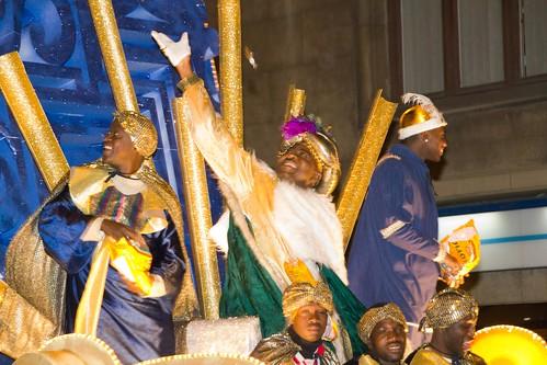 Cabalgata de Reyes Magos en Getxo 2011