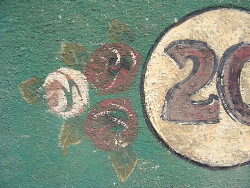 No 20 - flowery close-up